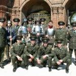 Георгиевский парад Братства православных следопытов. Крутицкое подворье 6 мая 2007