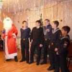 Новогодний праздник для детей. Дом-приют при Храме Воскресения Господня за Серпуховскими воротами 25 декабря 2010