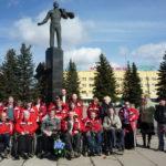 Автопробег, посвящённый 50-летию полета в космос Ю.А.Гагарина. Москва – Гагарин  14 – 15 апреля 2011