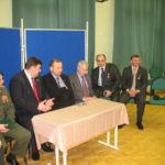 Встреча с членами Центра русского рукопашного боя им А.В. Суворова. Очаково-Матвеевское 13 апреля 2011