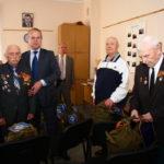 Поздравление ветеранов ВОВ с праздником 9 мая. Управление ЦРК ВВ  5 мая 2011