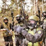 Показательные выступления спецназа ФСКН России  21 апреля 2012