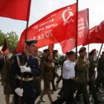 Гражданско-патриотическая акция на Поклонной горе «Флаги наших великих побед», посвященная Дню Флага и герба Москвы 6 мая 2012