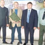 Напутствие представителям подразделения, отбывающим на международные соревнования разведывательных подразделений. 27 бригада 9 июня 2012