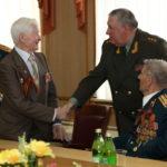 Поздравление ветеранов Великой отечественной войны с праздником 9 мая. Управление ЦРК ВВ МВД РФ 8 мая 2013