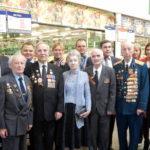 Поздравление ветеранов Великой отечественной войны совместно с магазином «METRO»  7 мая 2014