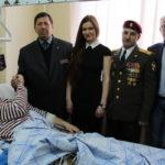 Посещение Центрального клинического госпиталя ВВ МВД РФ в Балашихе 26 марта 2015