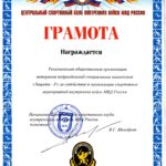 Центральный спортивный клуб внутренних войск МВД России