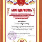 Заместитель Министра внутренних дел — Главнокомандующий внутренними войсками Министерства внутренних дел Российской Федерации
