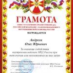 Заместитель Министра внутренних дел Российской Федерации — Главнокомандующий внутренними войсками МВД России