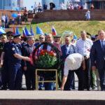 Торжественное открытие Международного автопробега ДОСААФ России и ДОСААФ Республики Беларусь 20 июня 2019 года