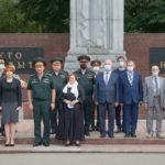 Памятное мероприятие посвященное Герою России Василию Чубенко 27 июля 2020 года